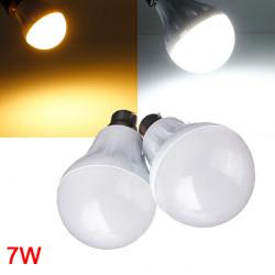 B22 7W 27LED 3014 SMD Globe Lampa Vit / Varmvit 220-240V