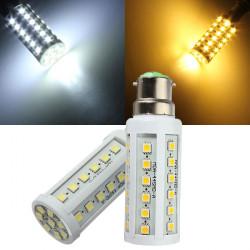 B22 7W 44 SMD 5050 warmes Weiß / Weiß AC 110 V LED Mais Glühlampe