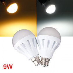 B22 9W 30LED 3014 SMD Globe Bulb Light Lamp White/Warm White 220-240V