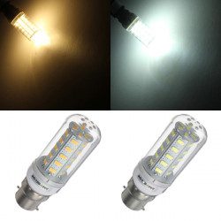 B22 9W 36 LED 5730SMD White/Warm White Corn Light Lamp Bulb 110V