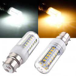 B22 LED 5W 48 SMD 5730 AC 220V White/Warm White Corn Light Bulbs