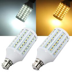 B22 LED Corn Lampor 20W 84 SMD 5630 Vit / Varmvit AC 220V Ljus