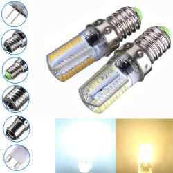 Dimmbare E14 3W weiße / warme weiße 3014SMD LED Birnen Silikon 110 120V