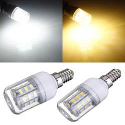 Dimmable E14 3W White/Warm White SMD5730 24 LED Corn Light Bulb 220V