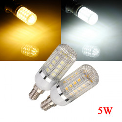 Dimmable E14 7W Cool/Warm White 5050 SMD 36LED Corn Bulb 110V