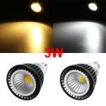 Dimmable E14 LED 3W COB Spot Down Light White/Warm White Bulb 220V LED Light Bulbs