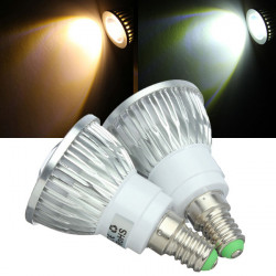 Dimmable E14 LED Bulbs 3W COB 110V Warm White/White Spot Light