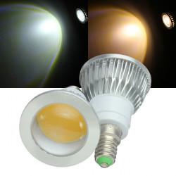 Dæmpbar E14 LED Lamper 3W COB 220V Varm Hvid / Hvid Spotlampe