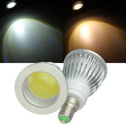 Dæmpbar E14 LED Lamper 5W COB 110V Varm Hvid / Hvid Spotlampe