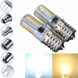 Dimmable E17 3W White/Warm White 3014SMD LED Bulb Silicone 110-120V