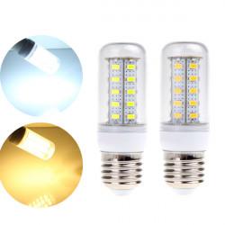 Dimmable E27 5W White/Warm White SMD5730 36 LED Corn Light Bulb 220V