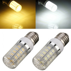 Dimmable E27 7W Cool/Warm White 5050 SMD 36LED Corn Bulb 110V