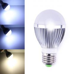 Dæmpbar E27 LED Lamper 5W Hvid / Varm Hvid 5 LED Globe AC 85-260V
