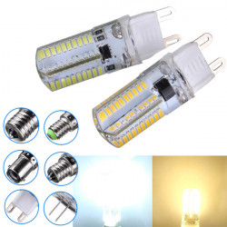 Dimmable G9 3W White/Warm White 3014SMD LED Bulb Silicone 220-240V