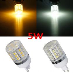 Dimmable G9 5W White/Warm White 5050 SMD 27 LED Corn Light Bulb 220V