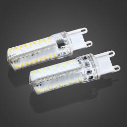 Dimbar G9 5W Vit / Varmvit 72 SMD3014 LED-lampa AC 220V