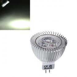Dæmpbar MR16 6W 430-460LM Pure Hvid Lys LED Spotlampe Pære 12-24V