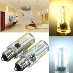 E11 LED 3W Dimmable White/Warm White 80 SMD 3014 Corn Light 110-120V