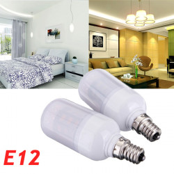 E12 3.5W White/Warm White 420LM 5730SMD LED Corn Bulb AC 24V