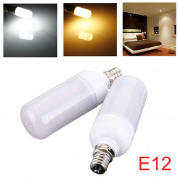E12 4.5W 36 SMD 5730 Vit / Varmvit AC 220V LED Corn Light Bulb