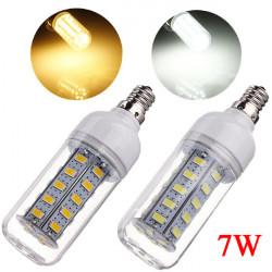 E12 7W 650LM Vit / Varmvit 5730 SMD 36 LED Lampa 110V