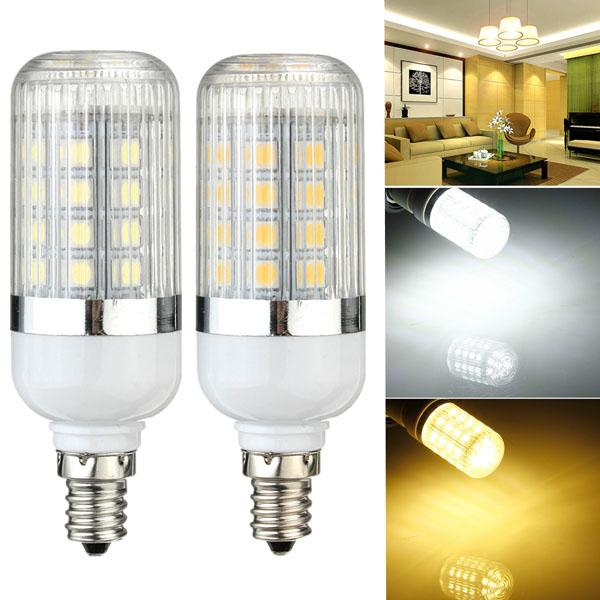 E12 Dimmable 4.5W 36 SMD 5050 LED Corn Light Bulb Lamp 110V LED Light Bulbs