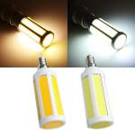 E14 10W COB LED Lamper Corn Lys Hvid / Varm Hvid AC 220V LED-pærer