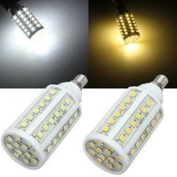 E14 10W SMD 5050 Weiß / Warm White 60 LED Mais Glühlampe 220V AC