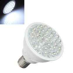 E14 1.5W Pure White 38 LED Energy Saving Spot Light Lamp Bulb 220V