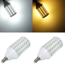 E14 15W White/Warm White 86 SMD5050 LED Corn Light Lamp Bulbs 220V