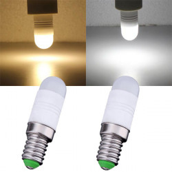 E14 1.7W Warm White/White 3 SMD 5730 220V LED Light Bulb