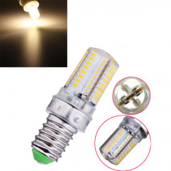 E14 1.8W Warm White/White 64 SMD 3014 220V LED Light Bulb