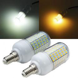 E14 2520LM 126SMD 2835 15W Varm Whtie / Vita LED 220V