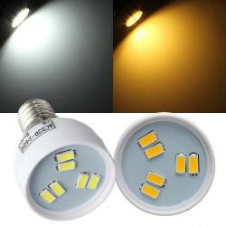 E14 2W LED Birnen 6 SMD 5630 AC 220 V Weiß / Warm White Spot Licht
