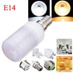 E14 3.5W White/Warm White 380LM 5730SMD 24 LED Corn Light Bulbs AC110V LED Light Bulbs