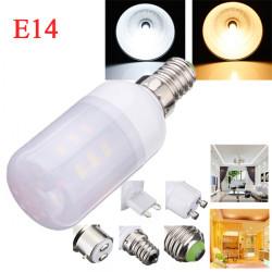 E14 3.5W White/Warm White 380LM 5730SMD 24 LED Corn Light Bulbs AC110V