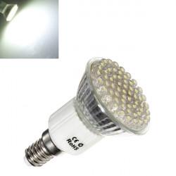 E14 3W 240LM Pure Vit Energisparande LED Spotlight Lampa 220V