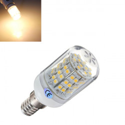 E14 3W Warm White 60 SMD 3528 LED Corn Light Lamp Bulb 220V
