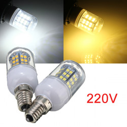 E14 3W Warm White/White 48 LED 2835 SMD Corn Light Bulb Lamp 220V