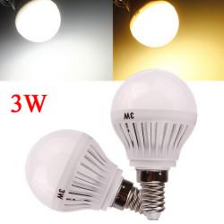 E14 3W White/Warm White 3014 SMD 9 LED Globe Light Bulb 220-240V