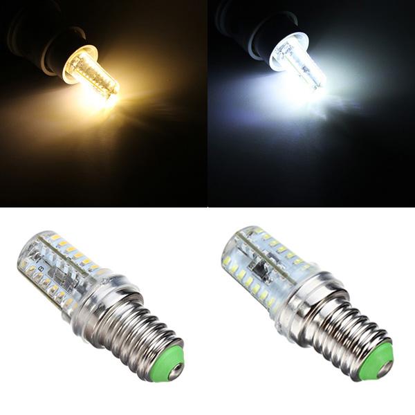 E14 3W Vit / Varmvit 72 SMD 3014 Dimbar LED Lampa 220-240V LED-lampor