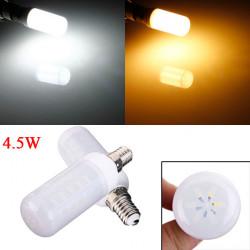 E14 4.5W Weiß / Warm White 5730 SMD LED Elfenbein Licht Mais Birnen 220V