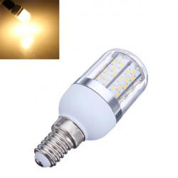 E14 4W 440LM Warm White 78 SMD 3014 LED Corn Light Bulbs 85-265V