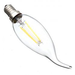 E14 4W Warm White Incandescent Retro Candle Light Bulb AC 220V