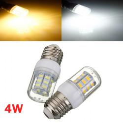 E14 4W Weiß / Warm White 5730 SMD 27 LED Mais Glühlampe 110V