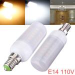 E14 5W 48 SMD 5730 AC 110V LED Corn Pærer Med Matteret Cover LED-pærer