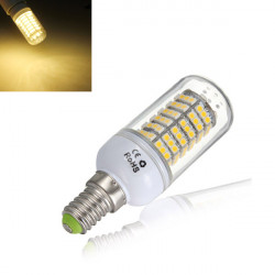 E14 5W 600LM Warm White 120 SMD 3528 SinglyFire LED Bulbs AC 85V-265V
