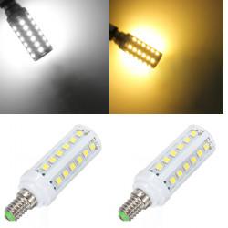E14 5W Vit / Varmvit 36 SMD5050 LED Glödlampor 220V