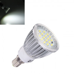 E14 6.5W Pure White 500lm SMD 5630 16 LED Spot Light Bulb 220V
