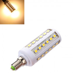E14 7W 660LM Warm White 44 SMD 5050 LED Energy Saving Bulb 220V